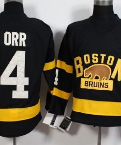 Boston Bruins 4 Bobby Orr Ice Hockey Jersey Mens Embroidery Stitched Customize any number and name