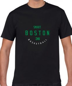 Boston Celtics Number 36 Marcus Smart 2019 best selling New men s COTTON Short Shirt for