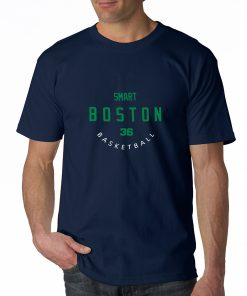 Boston Celtics Number 36 Marcus Smart 2019 best selling New men s COTTON Short Shirt for 4