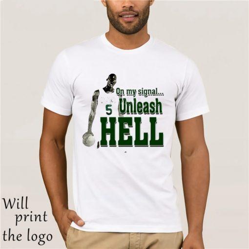 Boston Celtics t shirt Unleash Hell Gladiator Parody Kevin Garnett t shirts