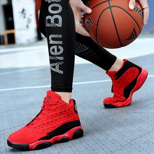 Boys Men Basketball Shoes 2019 New Brand Basketball Sneakers Men Non slip Retro Jordan Shoes Basket 4