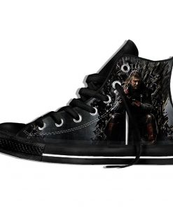 Brand Game Of Thrones Shoes The Film Funny Sneakers 3d Plimsolls High top sneakers Men Hip