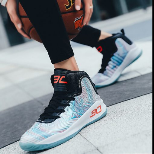 Brand Men Basketball Shoes High Top Non slip Superstar Sneakers Footwear Male Sports Shoes Outdoor Men 3