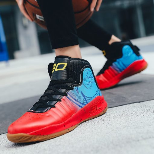 Brand Men Basketball Shoes High Top Non slip Superstar Sneakers Footwear Male Sports Shoes Outdoor Men 5