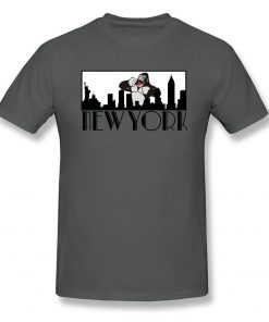 Brand New Man T Shirt Greetings From New York Tshirt Giant Gorilla Print Top Funny Tees 1