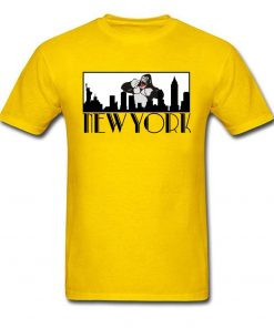 Brand New Man T Shirt Greetings From New York Tshirt Giant Gorilla Print Top Funny Tees 2