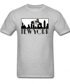 Brand New Man T Shirt Greetings From New York Tshirt Giant Gorilla Print Top Funny Tees