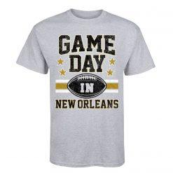 Brand Summer Style Men O Neck Short Sleeved Slim Fit Gd New Orleans Footballer Custom T