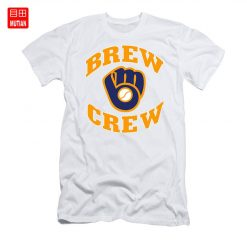 Brew Crew T Shirt milwaukee brew crew brewers retro vintage baseball team wisconsin national 1