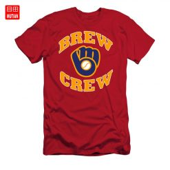 Brew Crew T Shirt milwaukee brew crew brewers retro vintage baseball team wisconsin national
