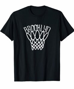 Brooklyn basketball net vintage t shirt