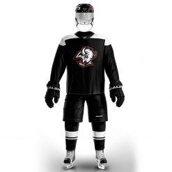 COLDOUTDOOR Vintage Ice Hockey Training Jerseys Set Print buffalo Logo Sport Cheap high quality H6100 8