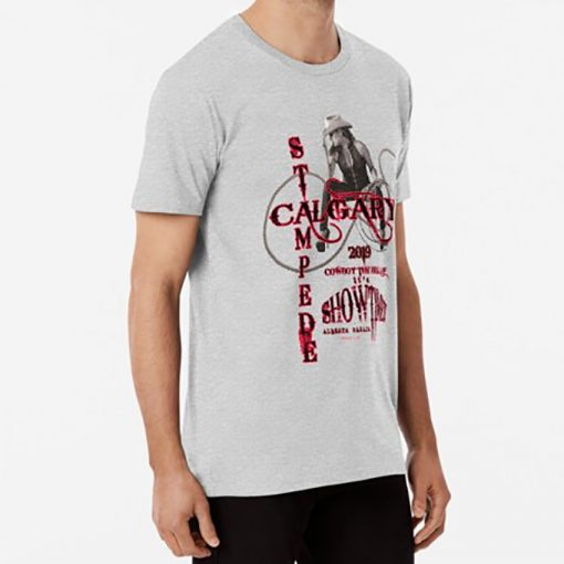 Calgary Stampede Lady Rope T shirt canada calgary stampede celebration cowboys cowgirl rope alberta rodeo 2
