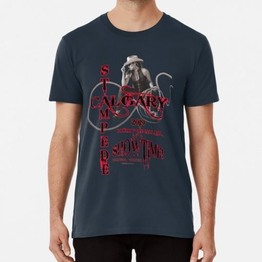Calgary Stampede Lady Rope T shirt canada calgary stampede celebration cowboys cowgirl rope alberta rodeo