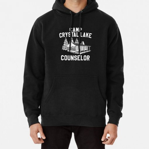 Camp Crystal Lake Counselor Hoodie Camp Crystal Lake Camp Crystal Lake Counselor Crystal Lake Friday The
