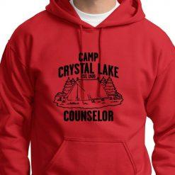 Camp Crystal Lake instructor Vintage T shirt Jason Friday 13th movie Hoodie swearshirt