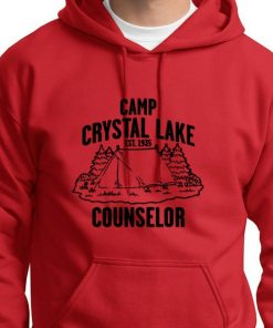 Camp Crystal Lake instructor Vintage T shirt Jason Friday 13th movie Hoodie swearshirt