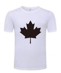 Canada or Toronto Maple Leaf Printed Men T Shirt Fashion Summer T Shirts Men Cotton Short 3