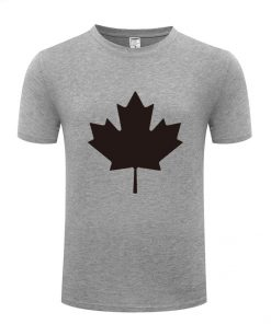 Canada or Toronto Maple Leaf Printed Men T Shirt Fashion Summer T Shirts Men Cotton Short 4