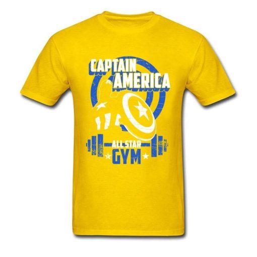 Captain America T Shirt Blue Navy Aesthetic Brands Fashion Novelty Tshirt Men s New Style Tees 4