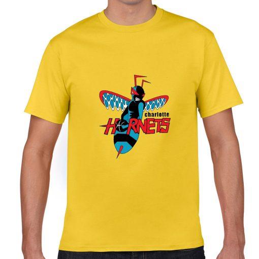Cartoon Design Charlotte Hornets Men Basketball Jersey Tee Shirts Fashion Man streetwear tshirt 3