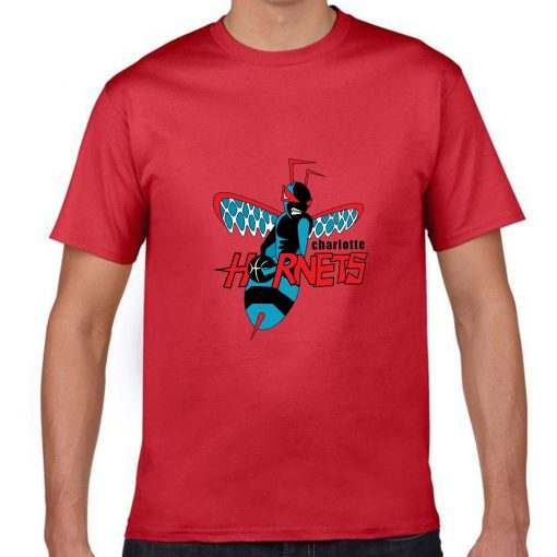 Cartoon Design Charlotte Hornets Men Basketball Jersey Tee Shirts Fashion Man streetwear tshirt