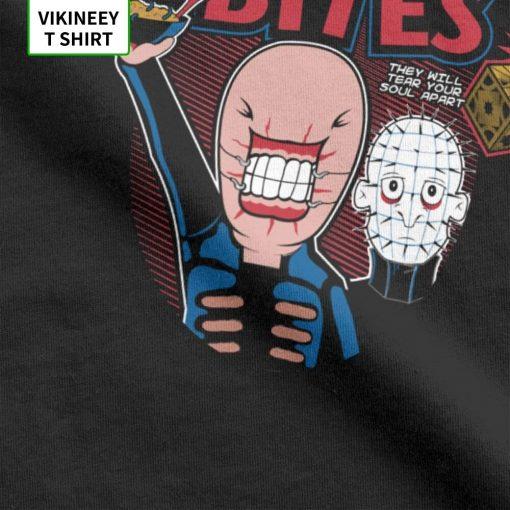 Ceno Bites T Shirts Men 100 Cotton T Shirt Horror Movie Scary Friday the 13th Jason 3