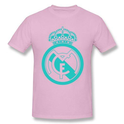 Classic Real Madrided T Shirt Men Letter Print Basic Tee Shirt Funny Design Short Sleeve Streetwear 5