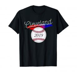 Cleveland Hometown Indian Tribe Tshirt 2019 Baseball Fans