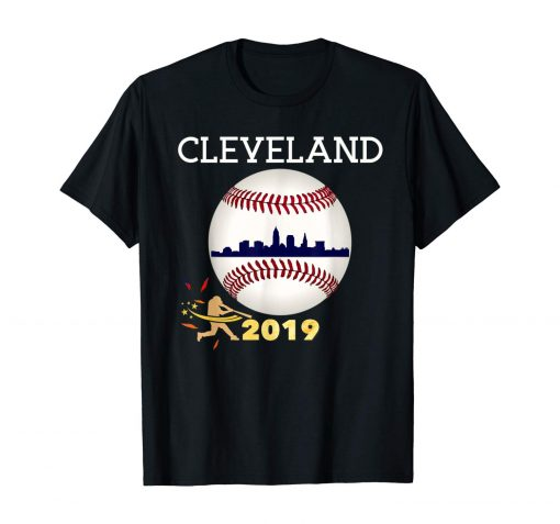 Cleveland Hometown Indian Tribe Tshirt 2019 Giant Ball