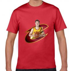 Cleveland Matthew Dellavedova Men Basketball Jersey Tee Shirts Fashion Man gym streetwear tshirt 1