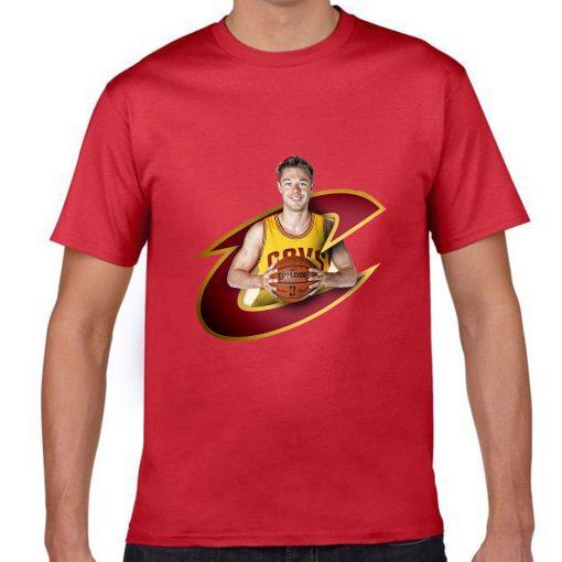 Cleveland Matthew Dellavedova Men Basketball Jersey Tee Shirts Fashion Man gym streetwear tshirt 1