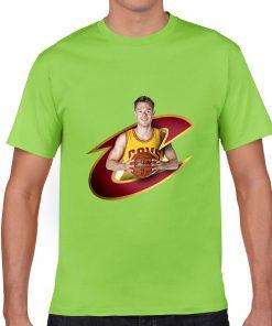 Cleveland Matthew Dellavedova Men Basketball Jersey Tee Shirts Fashion Man gym streetwear tshirt 2