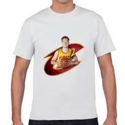 Cleveland Matthew Dellavedova Men Basketball Jersey Tee Shirts Fashion Man gym streetwear tshirt