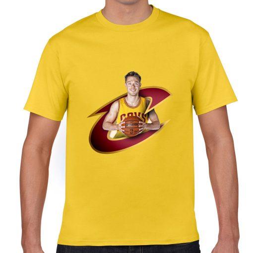 Cleveland Matthew Dellavedova Men Basketball Jersey Tee Shirts Fashion Man gym streetwear tshirt 3