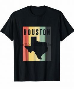 Clothing Houston Baseball Throwback Retro Astro Stripe 2018 Tee 2555