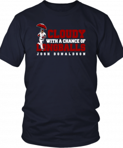 Cloudy With A Chance Of Longballs Shirt Josh Donaldson Atlanta Brave