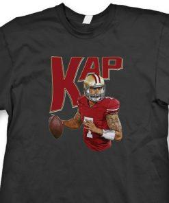 Colin Kaepernick KAP SF 49ers T shirt jersey 7 San Francisco Tee Shirt