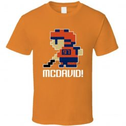 Connor Mcdavid 97 Tecmo Edmonton Hockey Athlete Fan T Shirt