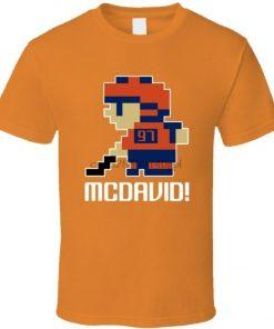Connor Mcdavid 97 Tecmo Edmonton Hockey Athlete Fan T Shirt