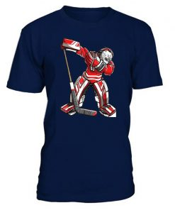 Cool Hockey Cotton O Neck T Shirts for ice Hockey High quality free shipping Vintage Short 1