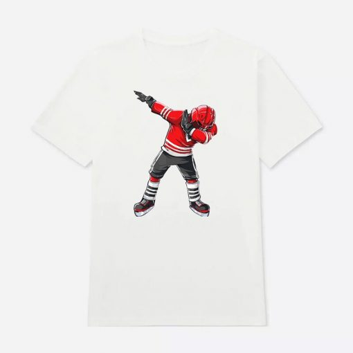 Cool Hockey Cotton O Neck T Shirts for ice Hockey High quality free shipping Vintage Short 3