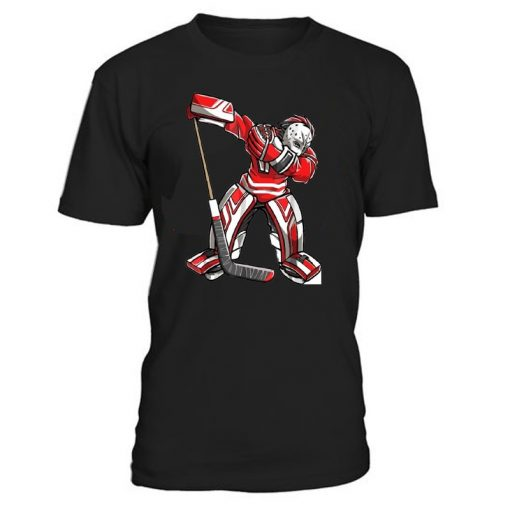 Cool Hockey Cotton O Neck T Shirts for ice Hockey High quality free shipping Vintage Short