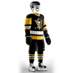 Cool Hockey free shipping Pittsburgh Penguin fans Training wear ice hockey jersey s in stock customized 2