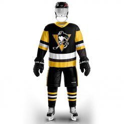 Cool Hockey free shipping Pittsburgh Penguin fans Training wear ice hockey jersey s in stock customized