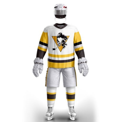 Cool Hockey free shipping Pittsburgh Penguin ice hockey jersey s Training wear in stock customized