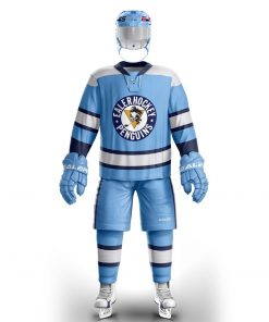 Cool Hockey free shipping Pittsburgh training wear With Printing Penguin Logo ice hockey jersey s in