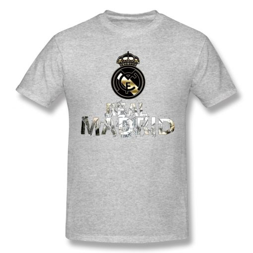 Cool Real Madrided Funny T Shirt Men Women Summer O Neck Casual Cotton T Shirt Graphic 2