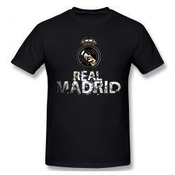 Cool Real Madrided Funny T Shirt Men Women Summer O Neck Casual Cotton T Shirt Graphic