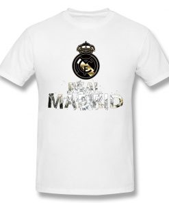 Cool Real Madrided Funny T Shirt Men Women Summer O Neck Casual Cotton T Shirt Graphic 3